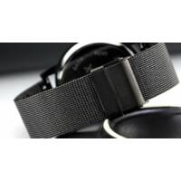 Enmex Unisex Karóra - Kreatív design - Rozsdamentes acél - Fekete