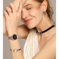 Starry - Női karóra - Rosegold - Mágneses szíj