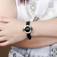 Acélgyűrű - Női Bőr Karkötő