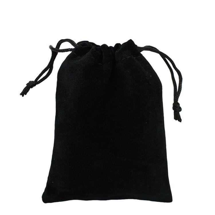Fekete Bársony Zsák 6da537920f