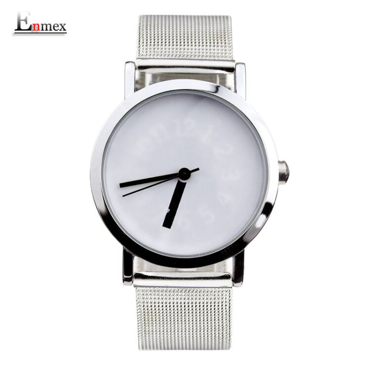 Enmex Unisex karóra - Fehér - Kreatív Design