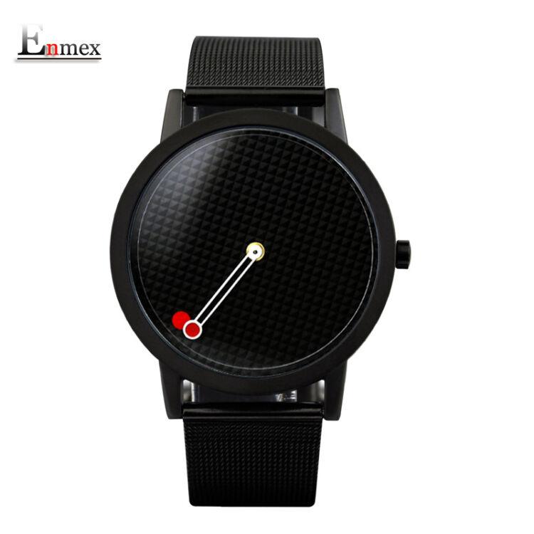 Enmex Unisex karóra - Fekete - Kreatív Design