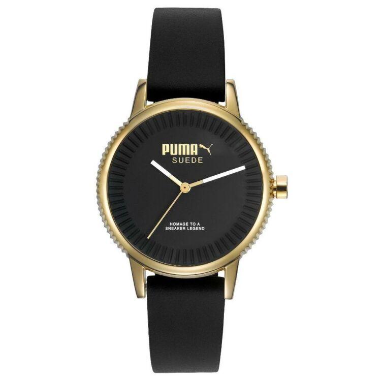 Puma Suede Gold Black Női Karóra - PU104252002 d9cf19a366