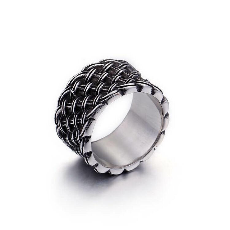 Extravagáns Nemesacél Férfi Gyűrű