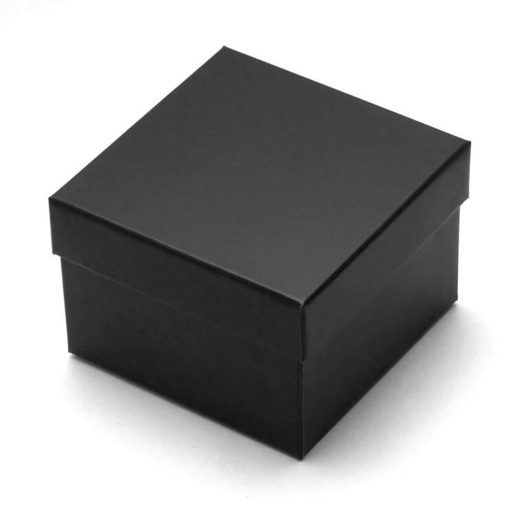 Fekete Kemény Karton Karóra Díszdoboz