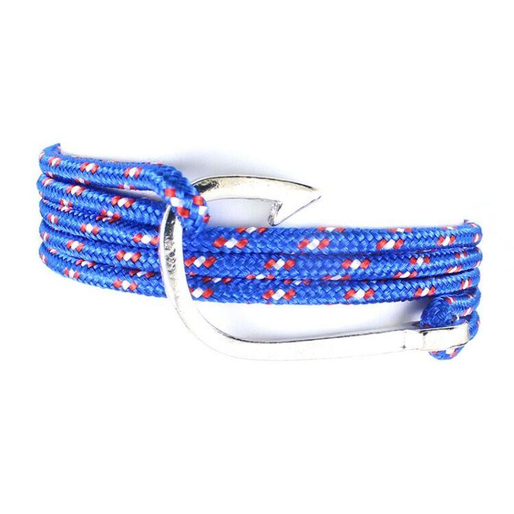 Horog Karkötő - Textil - Kék